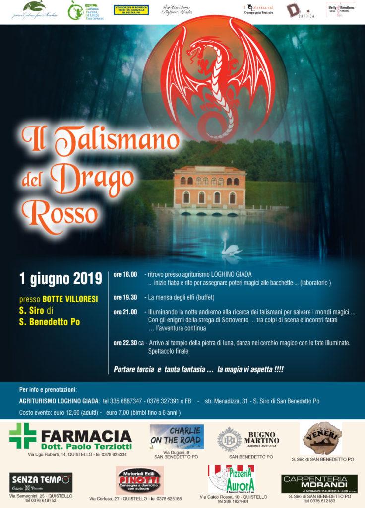 FIABE SULL'ACQUA - Il talismano del drago rosso @ San Siro di San Benedetto Po